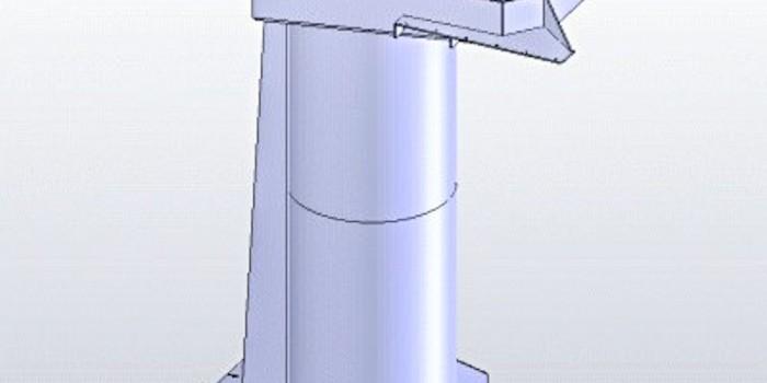 MODEL PODSTAWY ROBOTA PRZEMYSŁOWEGO
